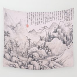 Mountain Retreat Wall Tapestry