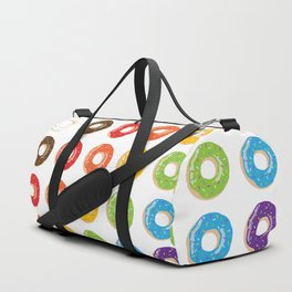 Yup, Some Rainbow Doughnuts Cause Why Not? Duffle Bag