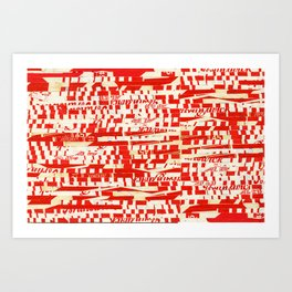BRUNSWICK Art Print