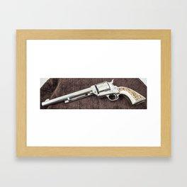Guns Of The Old West - Colt .45, #6 Framed Art Print