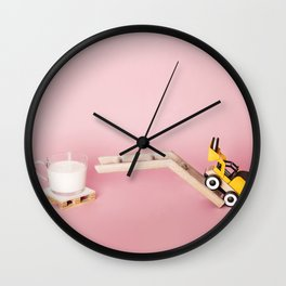 Cookie playing Wall Clock