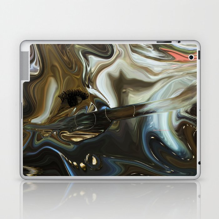 Imagine what is in your mind Laptop & iPad Skin