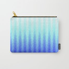 blue curtain background Carry-All Pouch