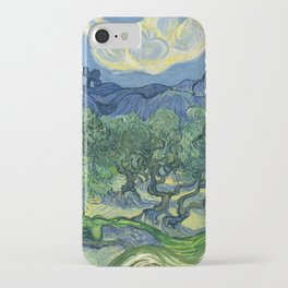 The Olive Trees by Vincent van Gogh iPhone Case