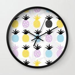 Pineapple Love Wall Clock