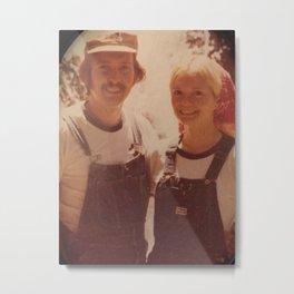 Mom and dad honeymoon Metal Print