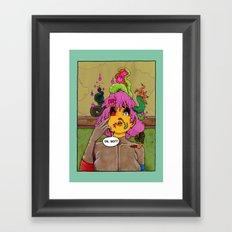 Neighbourhood Of Infinity, splash page. Framed Art Print