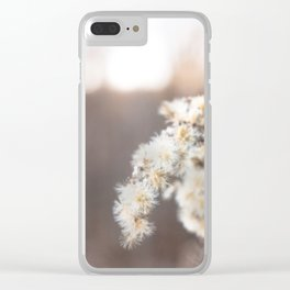 Winter Dreamy Landscape Clear iPhone Case