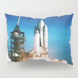 Space Shuttle Launch Pillow Sham