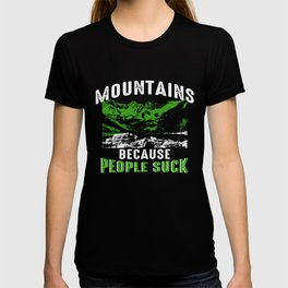 Hiking Retreat Mountains Alps Nature Hiker Gift T-shirt