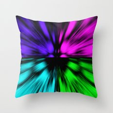 Warp Eye Throw Pillow