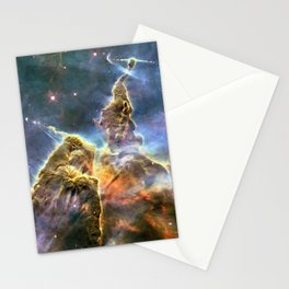 Space nebula Stationery Cards