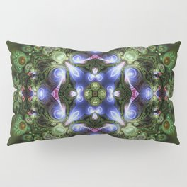 Fractal Forest Indigo Pillow Sham