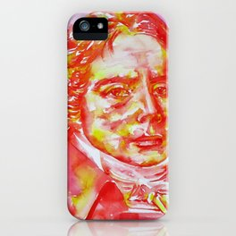 TALLEYRAND - watercolor portrait.2 iPhone Case