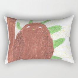Great barn owl Rectangular Pillow