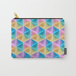 PetiteSlo Sonobe Origami Colour Block Carry-All Pouch