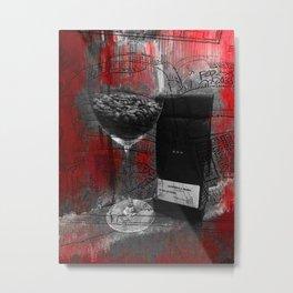 The Art Of Coffee Metal Print