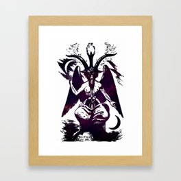 Baphomet Dreams Framed Art Print