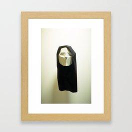 Polygatures: Janie Framed Art Print