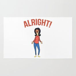 Linda Inspired Alright Belcher Mom Rug