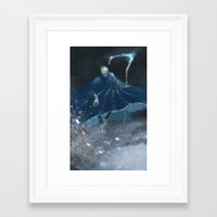 jack frost Framed Art Prints featuring Jack Frost by vicious mongrel