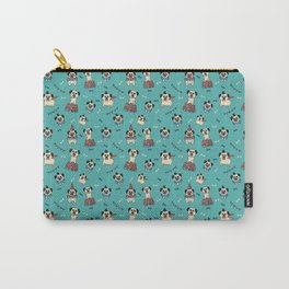 Pugs at the Circus Carry-All Pouch