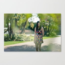 bokeh daze. Canvas Print
