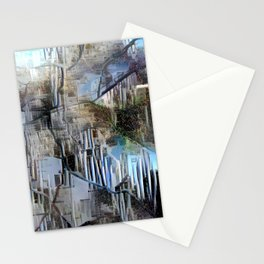 Abstract Map Nuremberg Stationery Cards