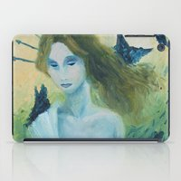 madonna iPad Cases featuring Butterfly Madonna by AriesNamarie