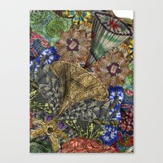 Psychedelic Botanical 4 Canvas Print