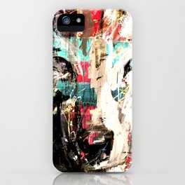 Silverwolf, wolf, painting, wolfpack. iPhone Case
