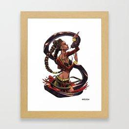 Black Mamba Framed Art Print