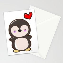 Penguin Kawaii Stationery Cards