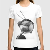 shells T-shirts featuring shells by Marga Parés