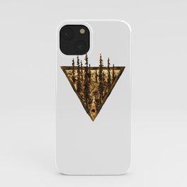 Wood Burn #2 iPhone Case