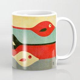Three Fish in My Mind Coffee Mug