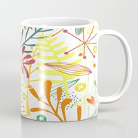 tropical Mugs featuring Tropical by Nic Squirrell