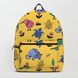 Cute Wild Animals Pattern Backpack