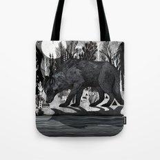 Black Shuck Tote Bag