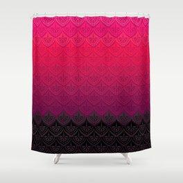 ELENA PATTERN - FLAMENCO VERSION Shower Curtain