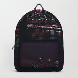 Red New York City Backpack