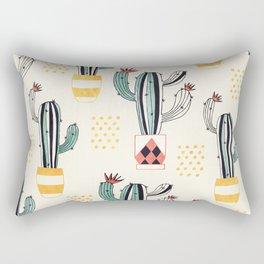 Cactus in a Pot Rectangular Pillow