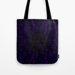 Triangle Inhalation Tote Bag