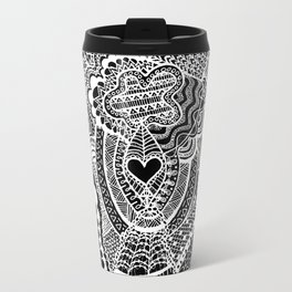 Love Doodle Travel Mug