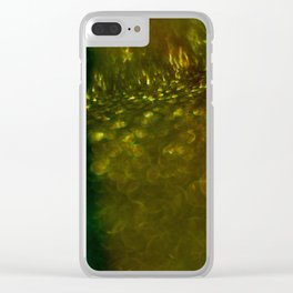 Light Drips III Clear iPhone Case