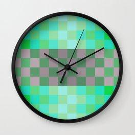Fresh Mint Wall Clock