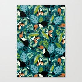 Toucan Tropics Canvas Print