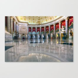 Statuary Hall Canvas Print