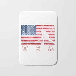 Team USA Field Hockey on Olympic Games Bath Mat