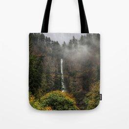 Multnomah Falls Oregon Tote Bag